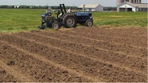 Plowing fields picture